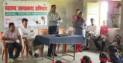 Thriveni Sainik Mining Private Limited organizes Health Awareness Camp.