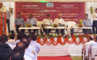 Honourable Power Secretary and CMD NTPC visited Pakri Barwadih