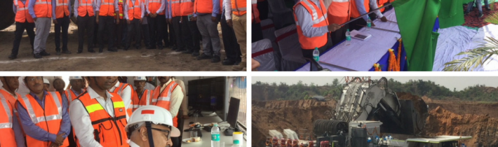 India's largest Dump Truck Flagged Off at Pakri Barwadih