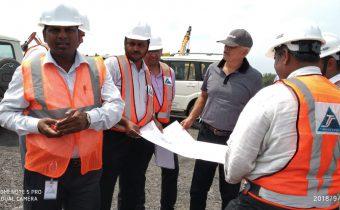 Captain Kuldeep Singh Solanki, MD Sainik Mining visits Pakri Barwadih