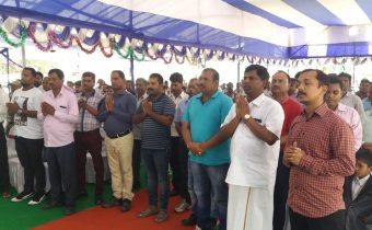 Viswakarma Puja Celebration at Thriveni Sainik Mining