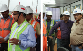 Head of Mining & Executive Director (HR), NTPC visits Pakri Barwadih site