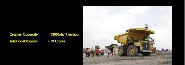 New project's crushers were inaugurated at Pakri Barwadih.