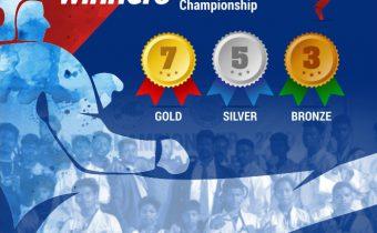 Thriveni triumphs! @2nd Odisha State Taek-won-do Championship.