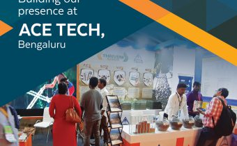 Opportunity to showcase Thriveni's Aggregate Products.