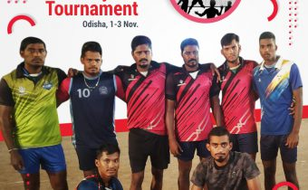 TEMPL Volleyball Team emerged Runners-up at the All India Invitational Volleyball Tournament