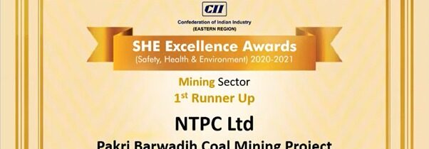 1st Runner Up in Mining Sector.